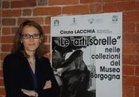 """Grazie alla Dott.ssa Cinzia Lacchia per la conferenza """"Le Arti Sorelle"""" nelle collezioni del Museo Borgogna"""