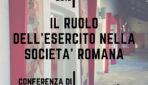 """Conferenza: """"Il ruolo dell'esercito nella società romana"""" Venerdì 7/12/2018 – ore 17:30"""