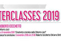 Master Class di Roberto Cecchetto – Chitarra Jazz – 8 e 9 novembre 2019
